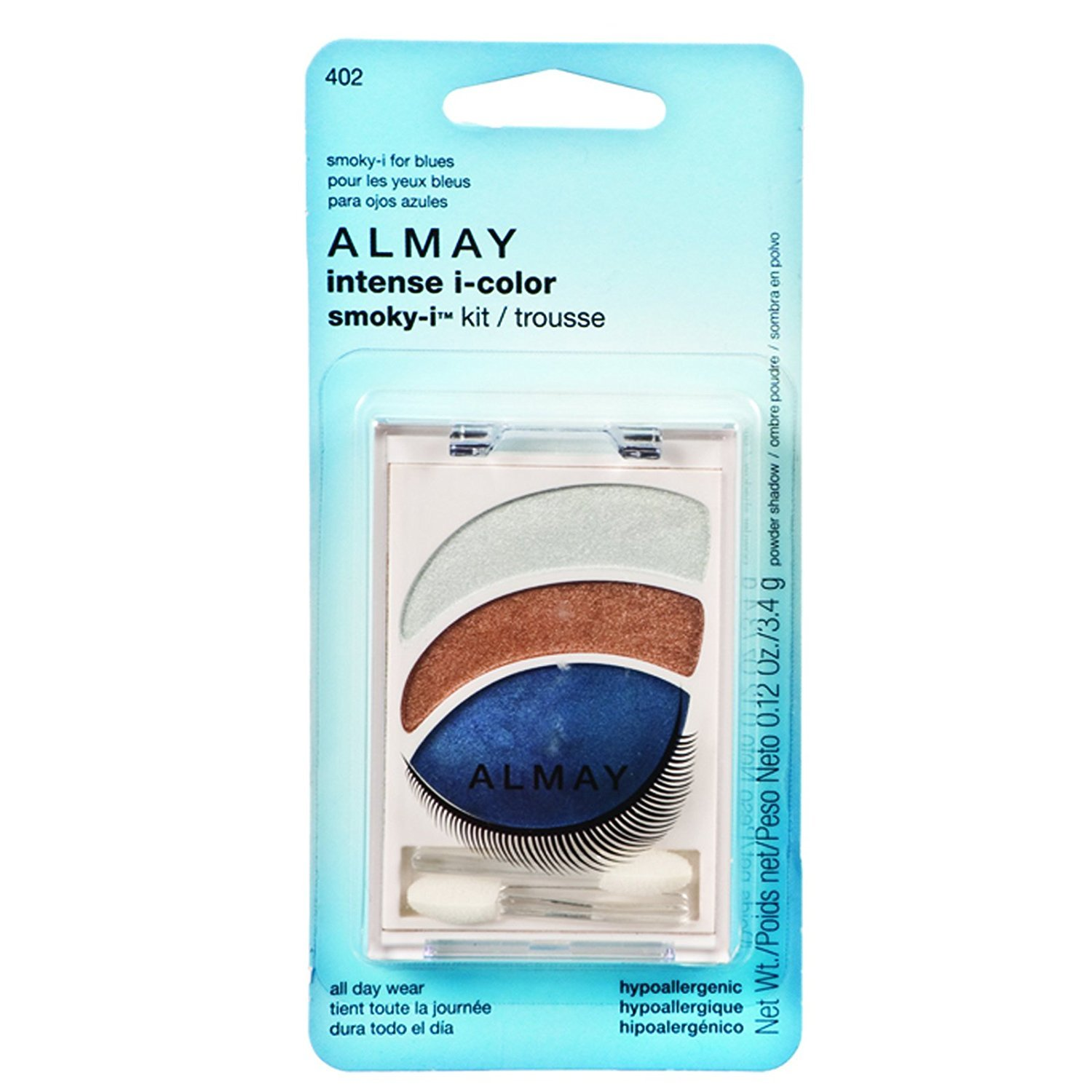 Almay Intense i-Color Smoky, I Kit - For Blue Eyes
