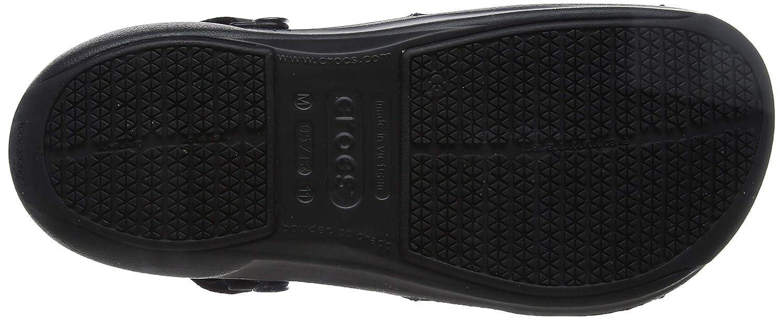 Sabots Mixte Adulte Crocs Bistro Pro Clog Noir Black 43//44 EU