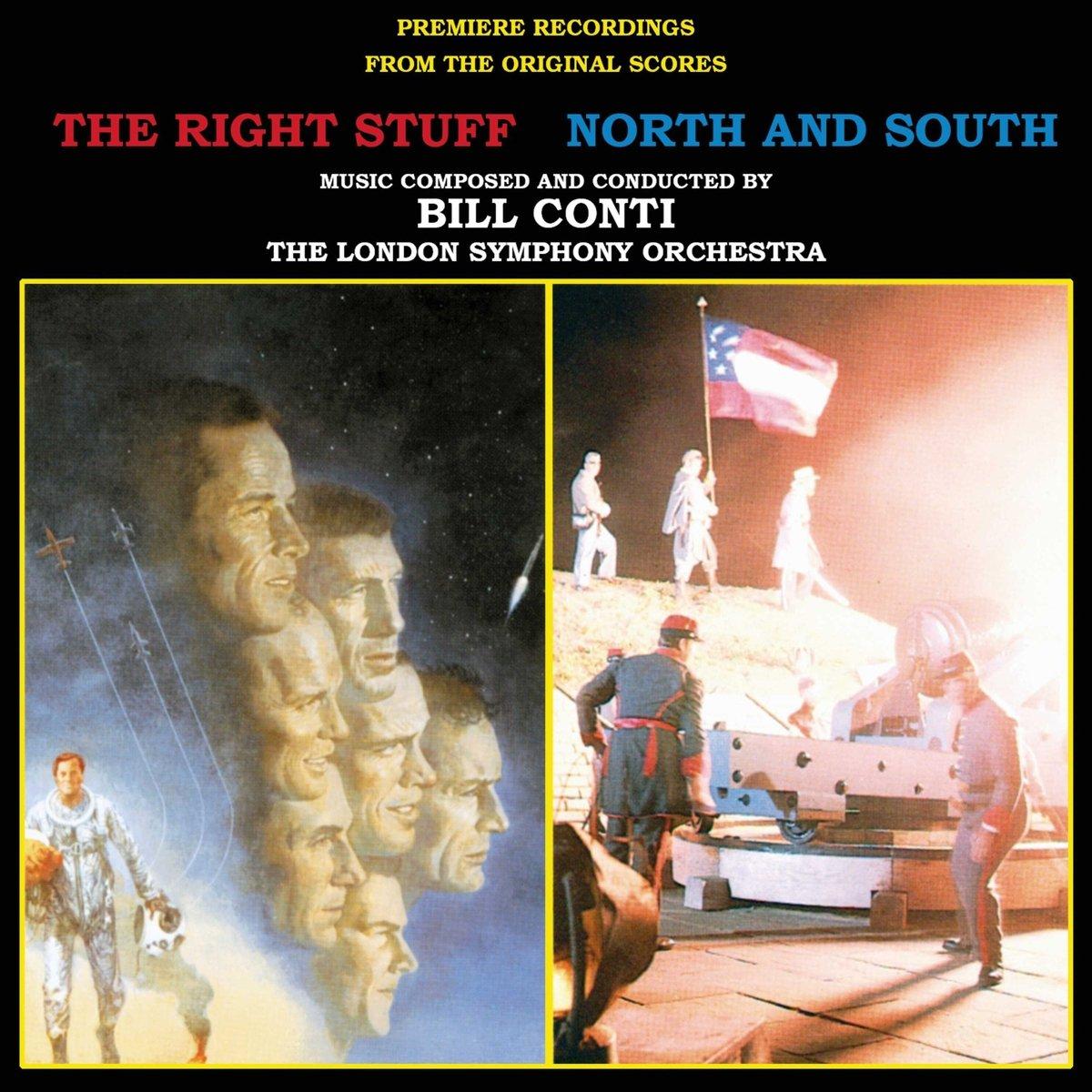 CD : Bill Conti - The Right Stuff / North And South (original Soundtrack) (CD)