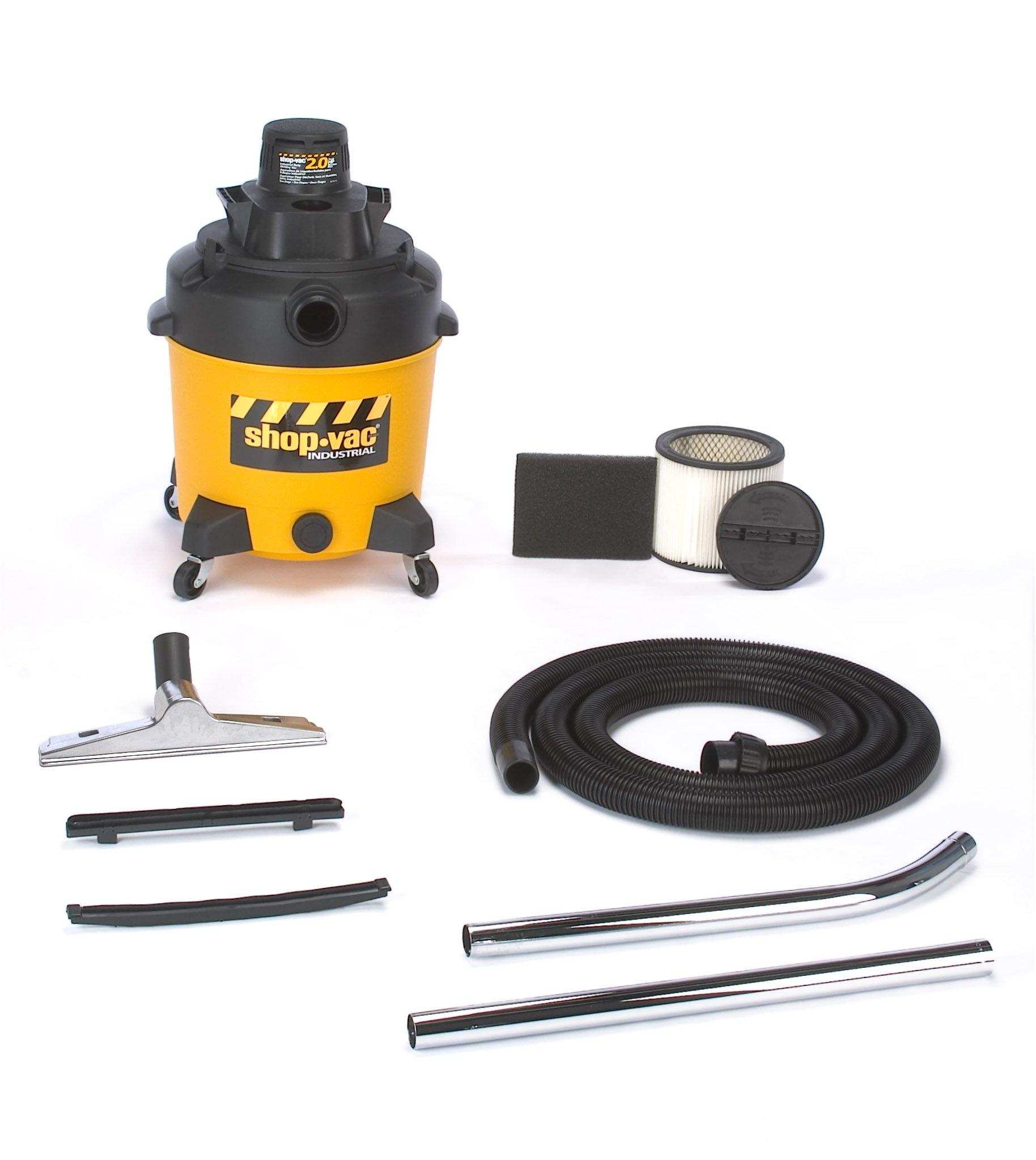Shop-Vac 6101210 12-Gallon 2-Peak HP 2-Stage Contractor Wet/Dry Vacuum by Shop-Vac (Image #1)