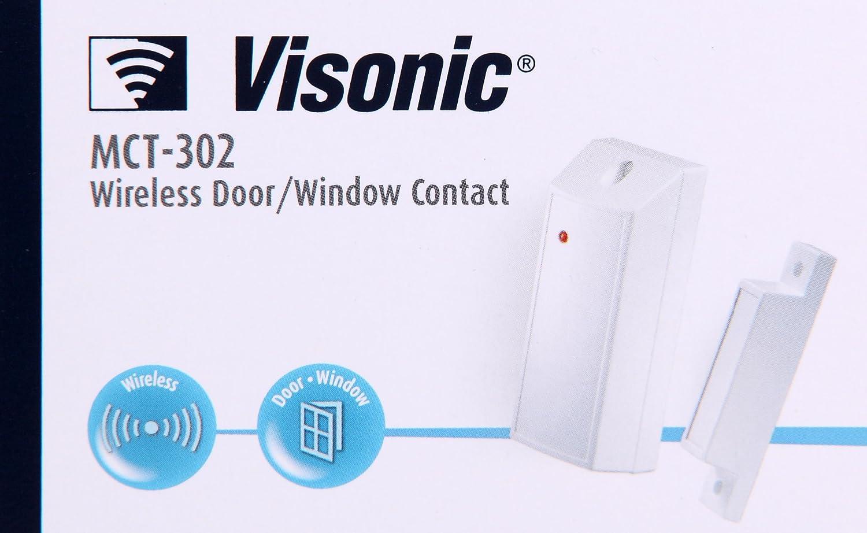 CONTACTO MAGNETICO CON ENTRADA AUXILIAR VISONIC POWERMAX MCT-302