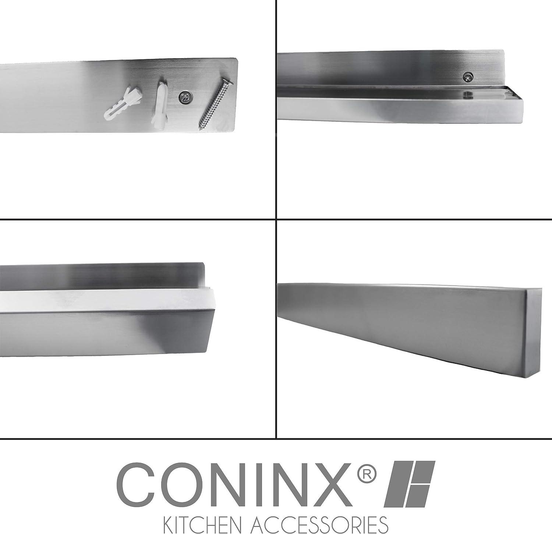 Compra Coninx - Barra magnética para Cuchillos (40 cm, magnética, autoadhesiva, para Pared) en Amazon.es