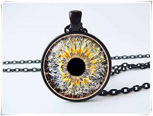 Amazon eye necklace eyeball necklace gray eye eyeball jewelry eye necklace eyeball necklace gray eye eyeball jewelry eye pendant human eyeball aloadofball Choice Image