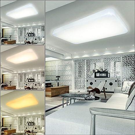 VGO 30W plafón Lámpara de techo LED cambio de color Cielo estrellado Vivero [Clase de eficiencia energética A ++]