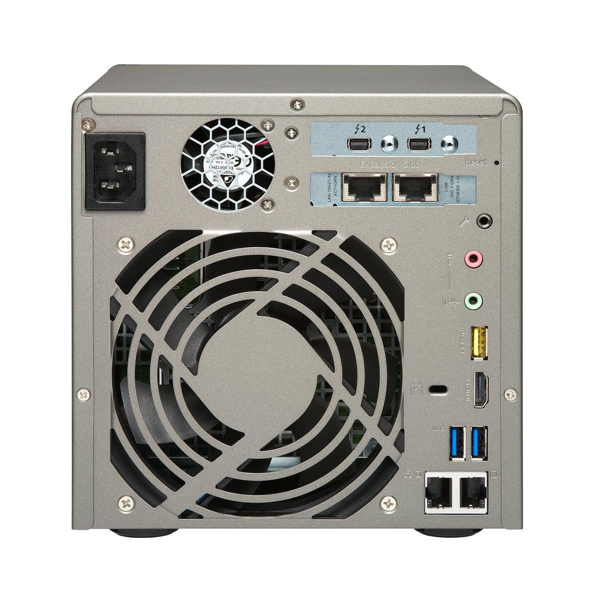 Qnap TVS-882ST2-i5-8G-US High Performance and Compact 8 bay Thunderbolt 2 DAS/NAS/iSCSI IP-SAN Solution by QNAP (Image #4)