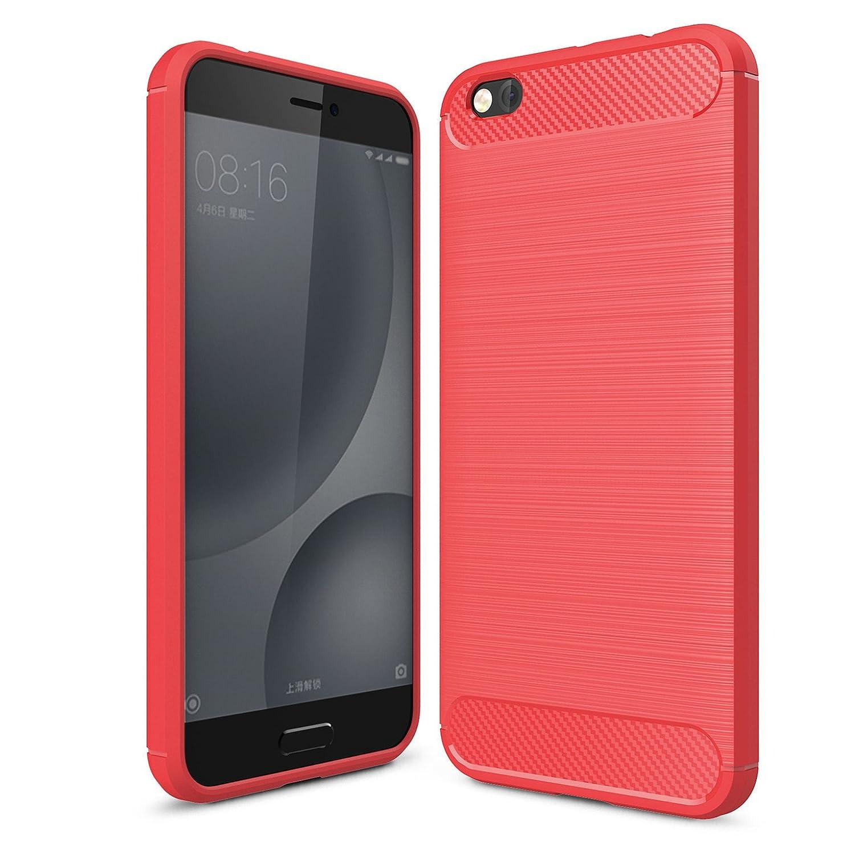 LXHGrowH Funda Xiaomi Mi 5C, [Ultra Delgada] Carcasa para Xiaomi ...