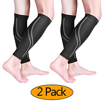 50766ebf1c0b2 Amazon.com: Udaily Calf Compression Sleeves for Men & Women (20 ...