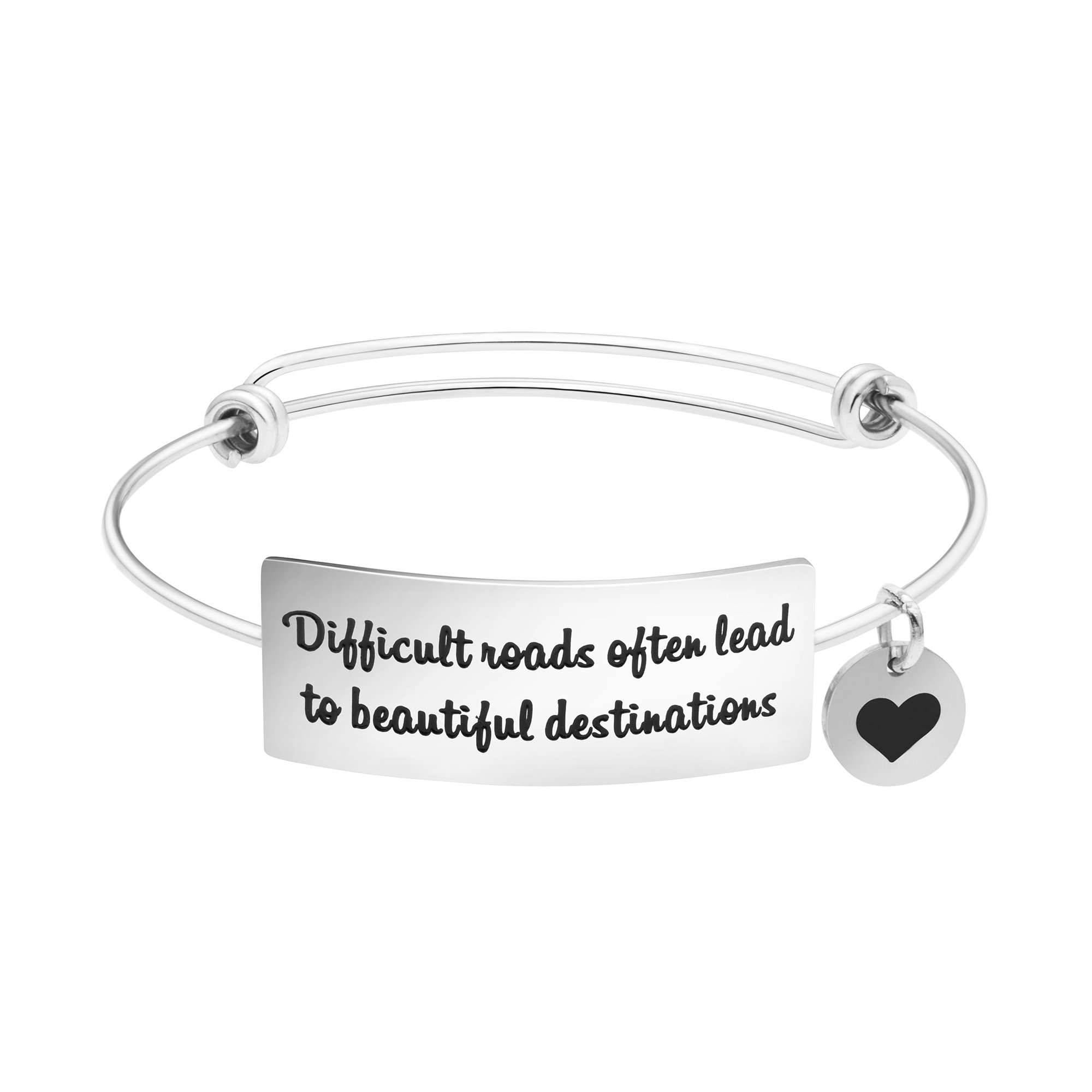 Yiyang Motivation Gifts Expandable Bracelets Sympathy Jewelry Encouragement Gifts