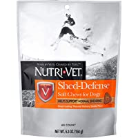 Shed Defense for Dogs, Formulated with Omega-3 & 6 Fatty Acids, 5.3 Ounces, Salmon