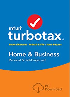 2020 Turbotax Home And Business.Amazon Com Turbotax Home Business State 2019 Tax