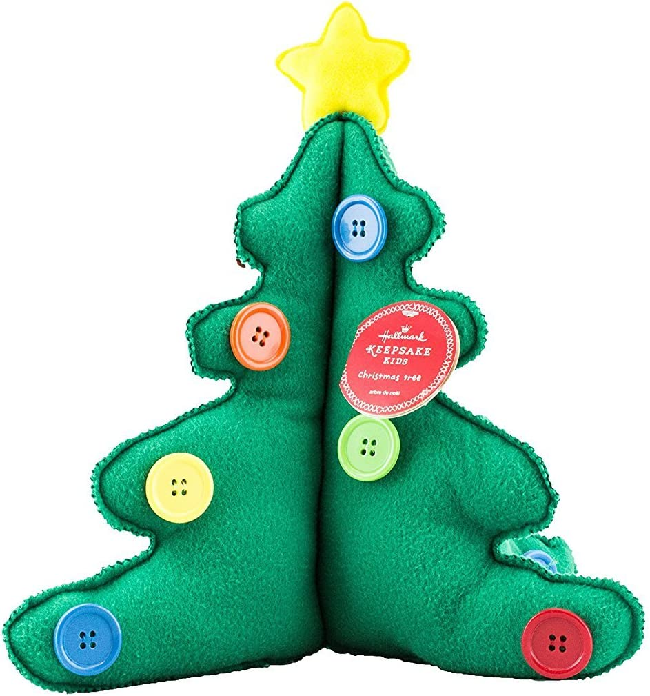 Portable Cute Christmas Tree Topper Dress Up Baby Face Set with Hat Nose Gl J4E7