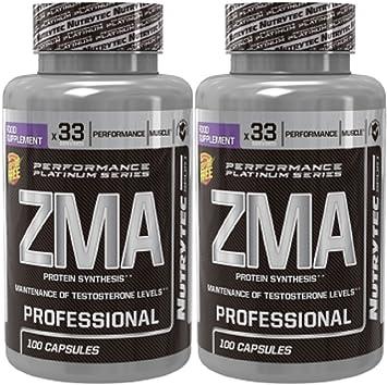ZMA - ZINC + MAGNESIO 100 capsulas. (Pack 2u.): Amazon.es: Salud y cuidado personal