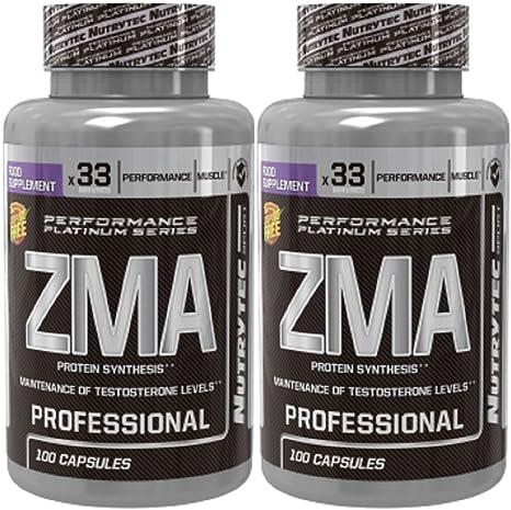 ZMA - ZINC + MAGNESIO 100 capsulas. (Pack 2u.)