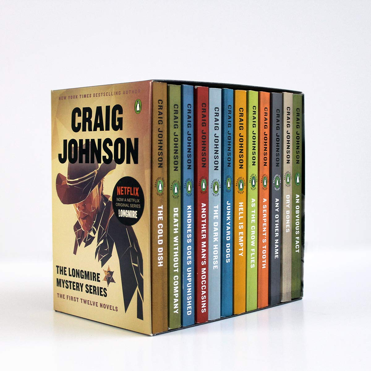 The Longmire Mystery Series Boxed Set Volumes 1-12: The First Twelve Novels (A Longmire Mystery) by Penguin Books