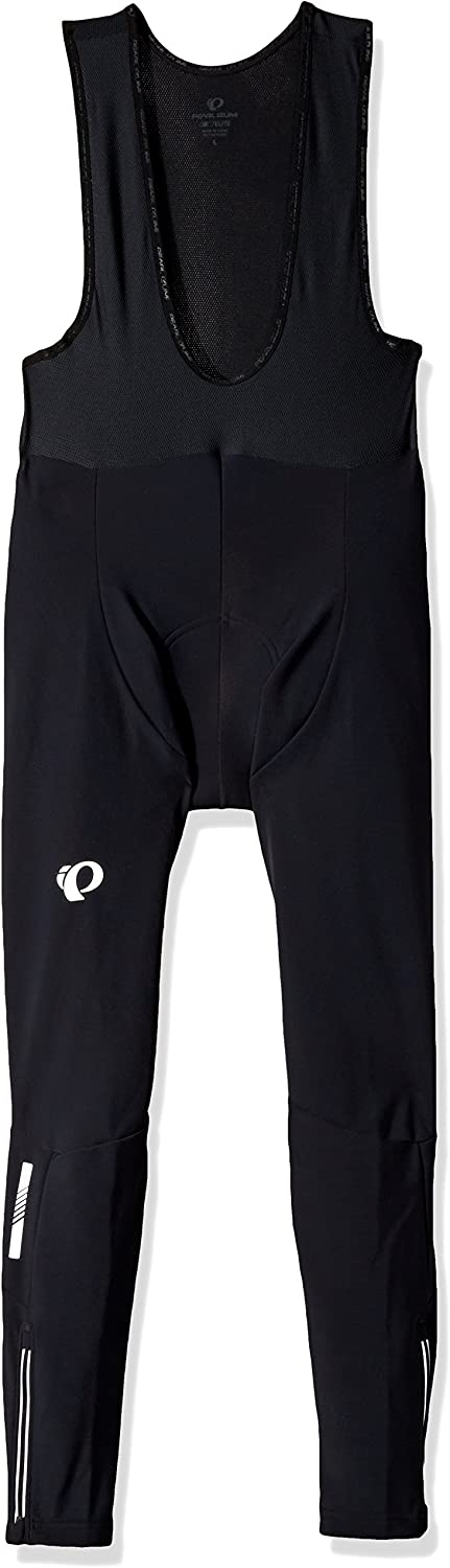 PEARL IZUMI Purr Thermal Cycling Bib Tights, Black, Large : Clothing