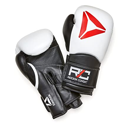 59bd6e1209d Amazon.com   Reebok Combat Leather Training Gloves   Sports   Outdoors