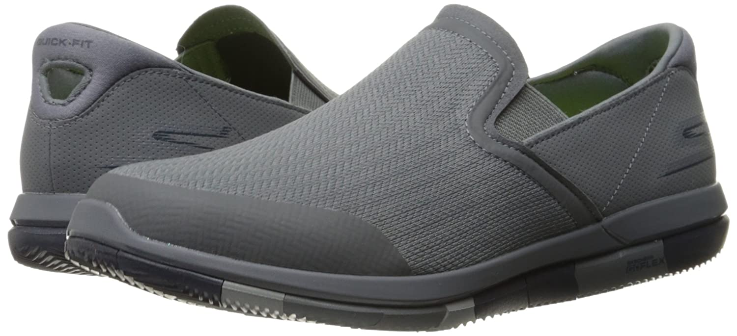 Skechers Menn Gå Flex Slip-on Walking Sko EhK83OLGP