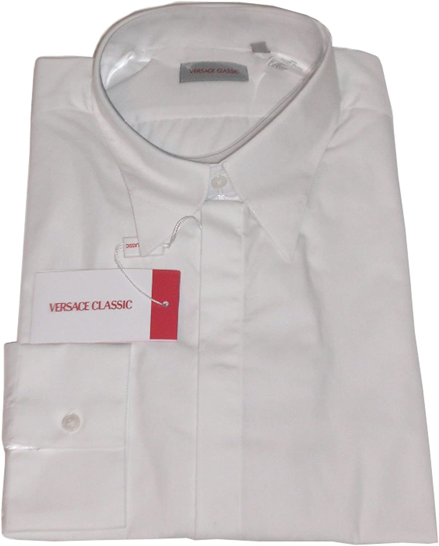 Camisa Versace blanco 44 Neuf: Amazon.es: Ropa y accesorios