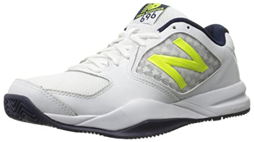New Balance Men s 696v2 Lightweight Tennis Shoe Riptide/Firefly 10 D US