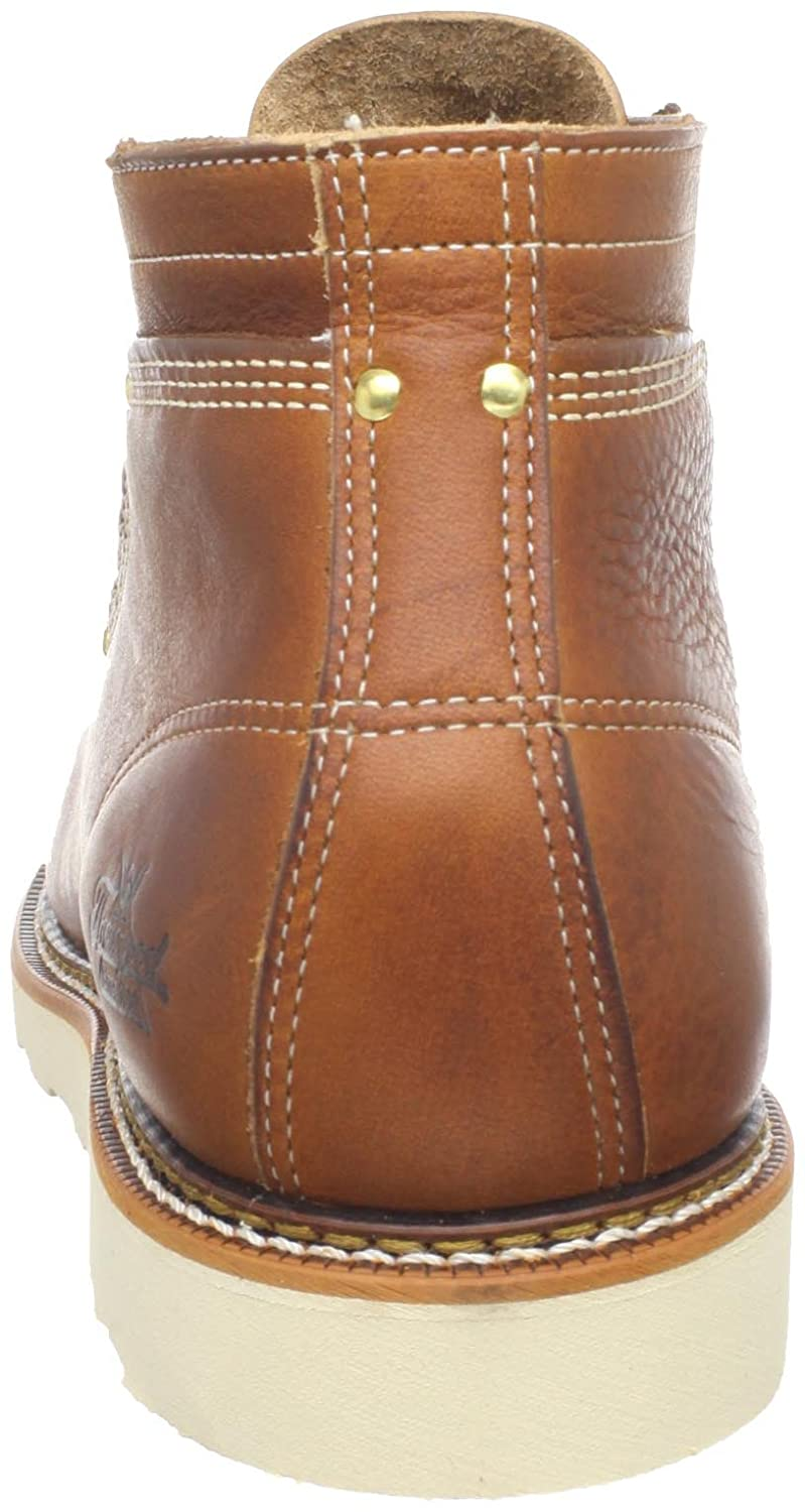 bcf6b5203e0 Thorogood Men's American Heritage Lace-To-Toe Roofer Boots