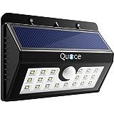Quace 20 LED Solar Light (Black, Plastic)