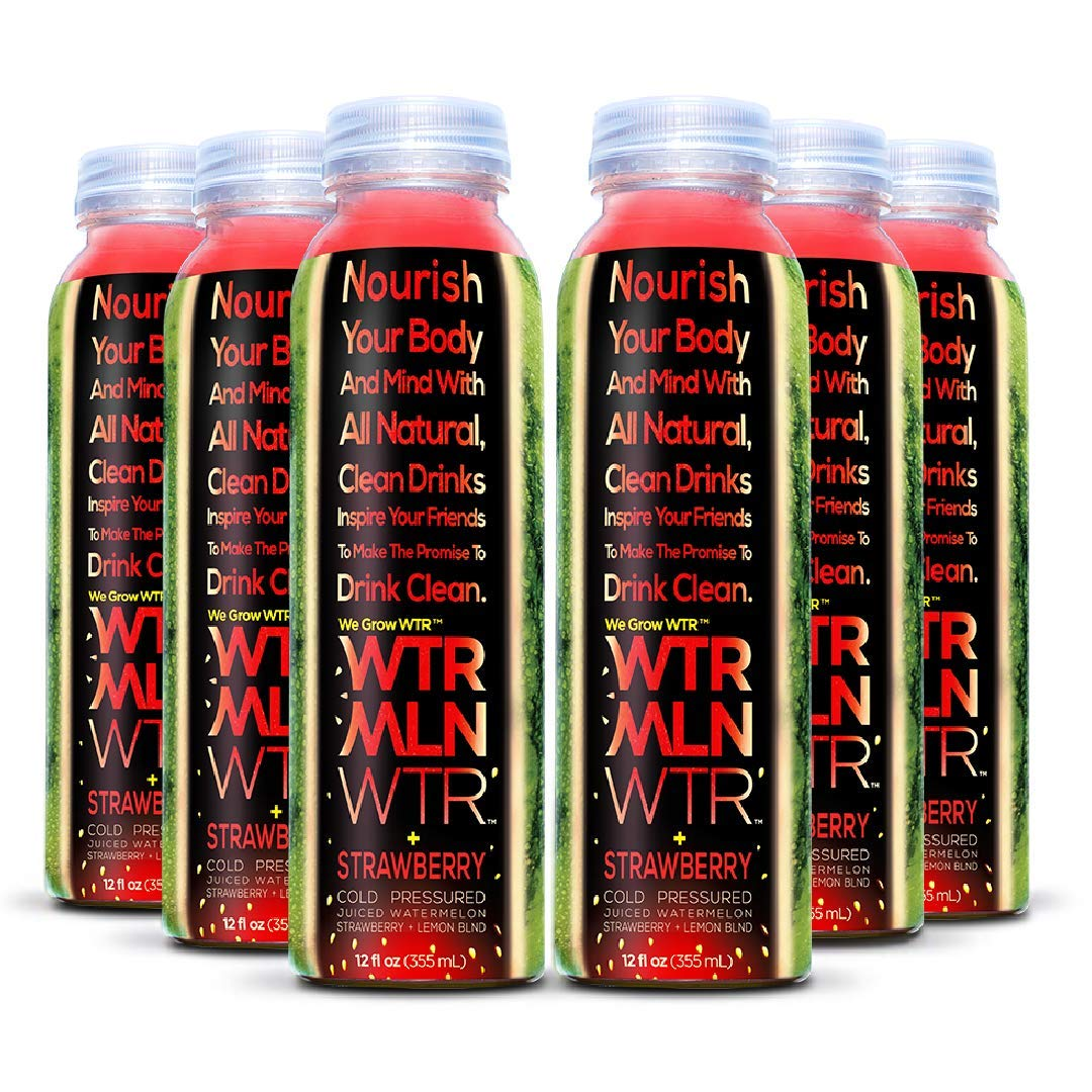 The WTRMLN WTR Cold Pressed Watermelon Juice + Strawberry travel product recommended by Samantha Sarno on Lifney.