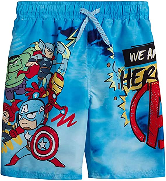 Marvel Boys Official Licensed The Avengers Swim Short