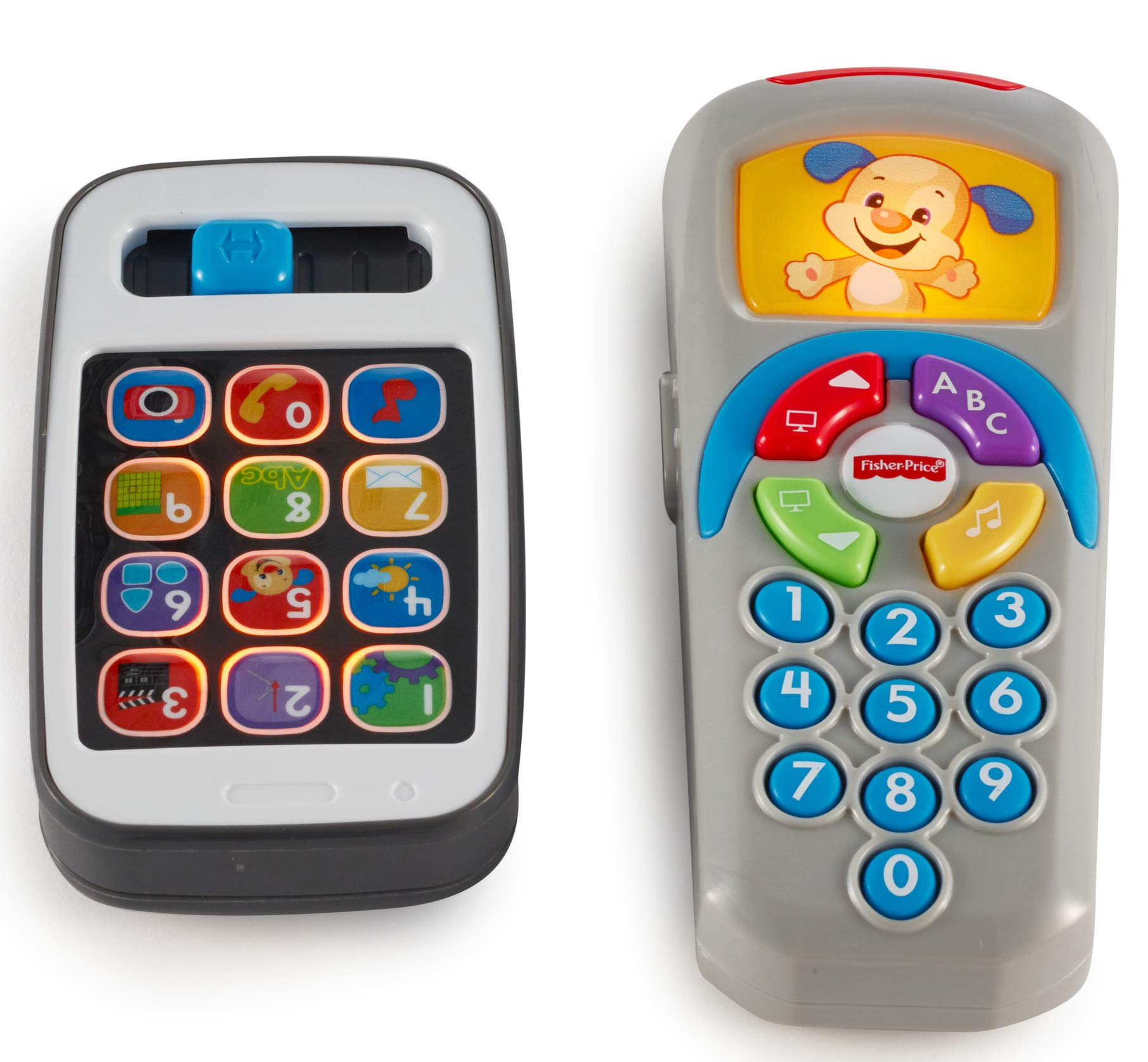 Fisher-Price Laugh & Learn Gift Set, Smartphone and Remote [Amazon Exclusive] by Fisher-Price