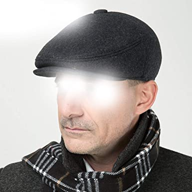 Image Unavailable. Image not available for. Color  Hat Flat Thicken Cap for Old  Men ... f49f30ac5aa