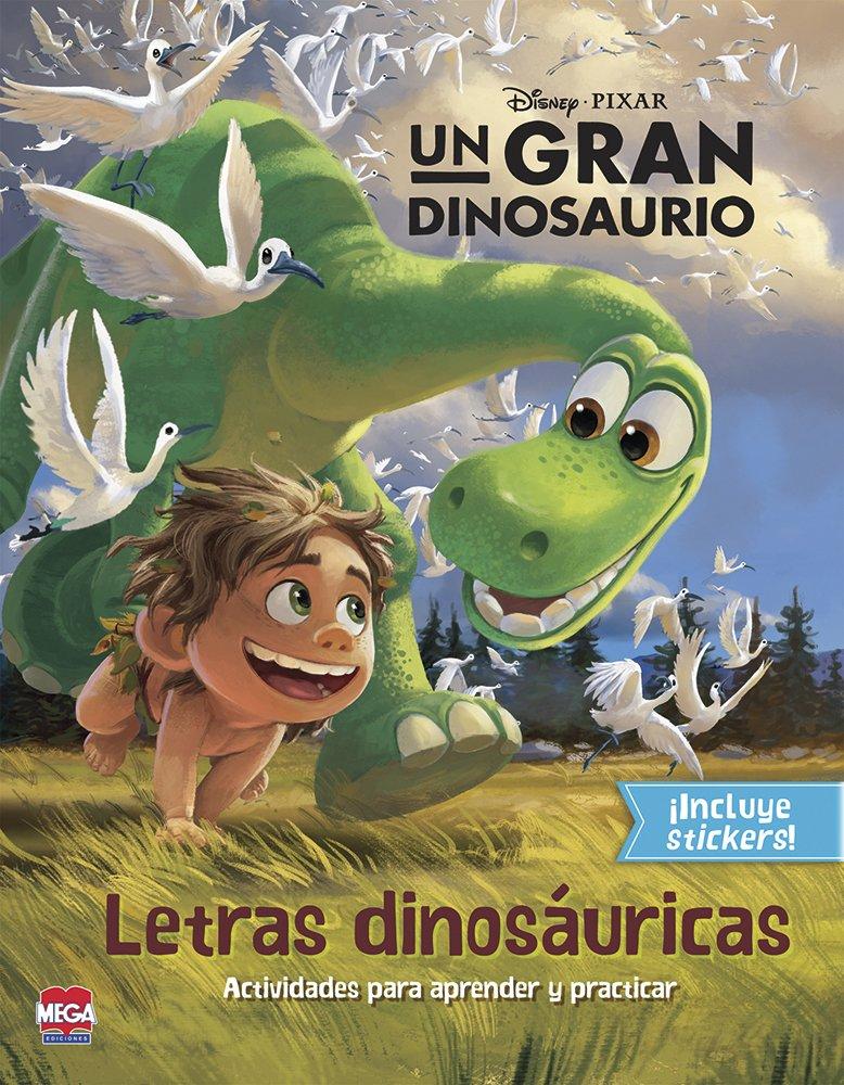 Un gran dinosaurio Letras Dinosaurios ebook