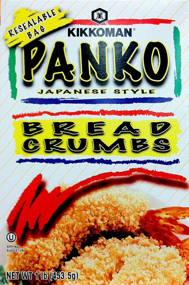 Kikkoman PANKO BREAD CRUMBS Japanese Style 1LB (5 Pack) by Kikkoman (Image #1)