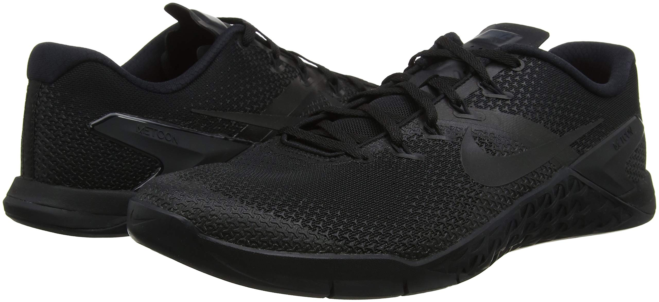 Nike Men's Metcon 4 Training Shoe Black/Black-Black-Hyper Crimson 7.0 by Nike (Image #5)