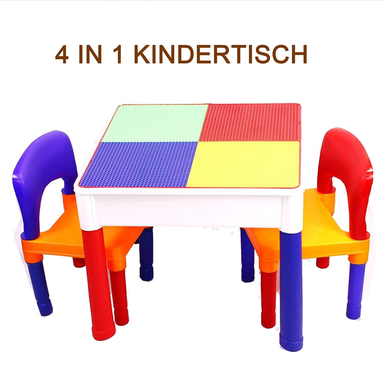 SEIGNEER Bambini Tavolo Set Tavolo da Gioco per Bambini Tavolino per Bambini attività da Tavolo