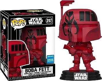 Boba Fett Funko Pop Vinyl Star Wars Wondercon 2020 Exclusive IN HARD PROTECTOR