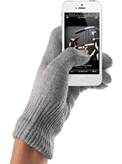 Mujjo GLKN-012-S Double-Layered Touchscreen Gloves  Amazon.co.uk ... 761ab4718f0