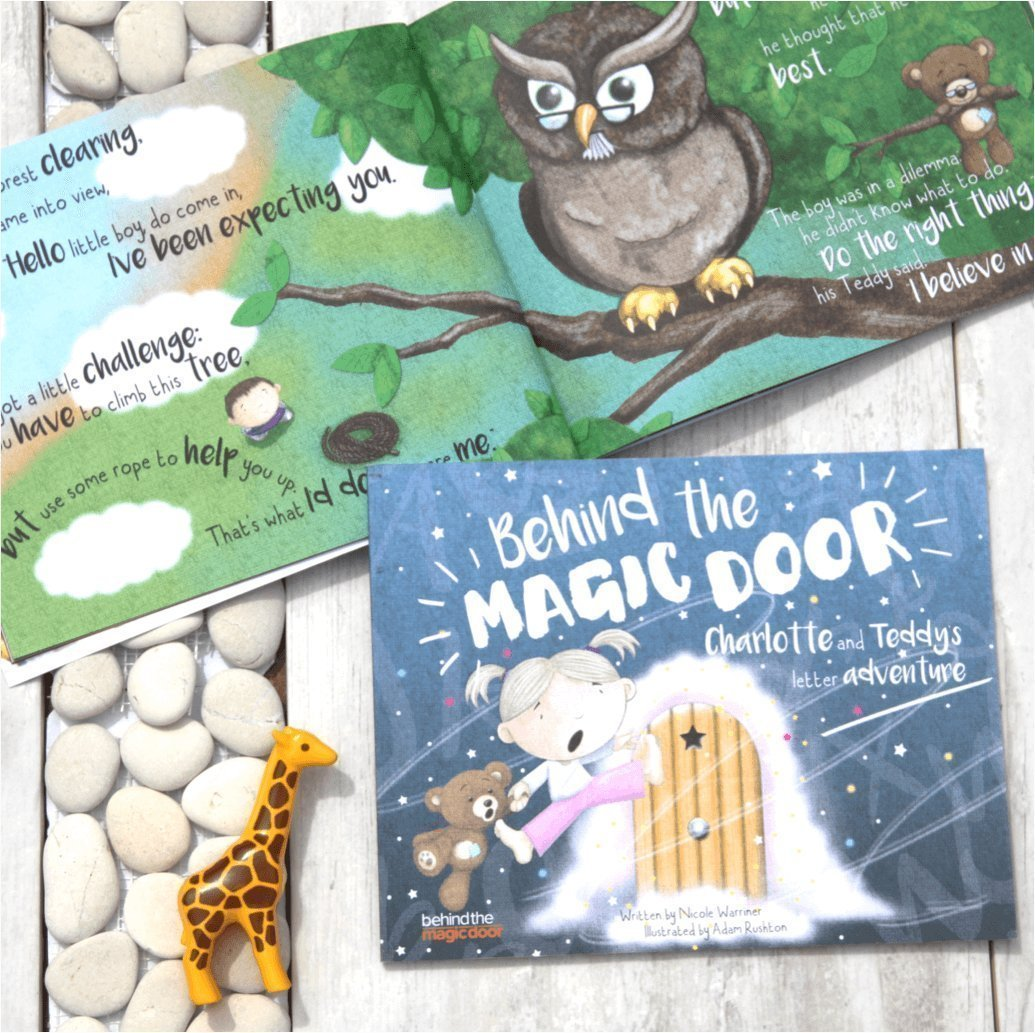 Personalised Children's Book, Behind the Magic Door