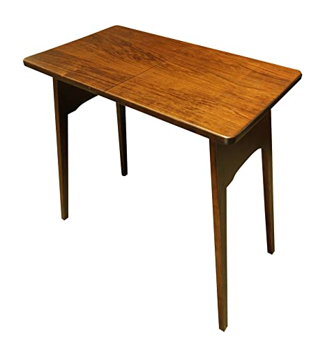 Amazon.com: Weaver Craft Fireside – Mesa plegable – Amish ...