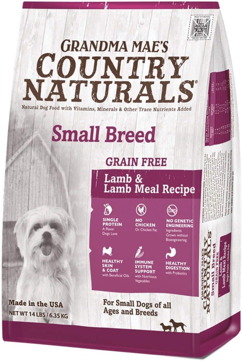 Country Naturals Grandma Mae's Grain Free Single Protein Lamb Recipe