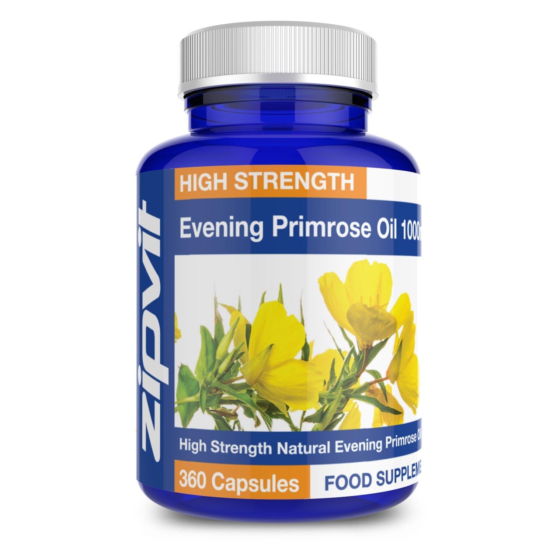 Evening Primrose Oil 1000mg (360 Softgels)
