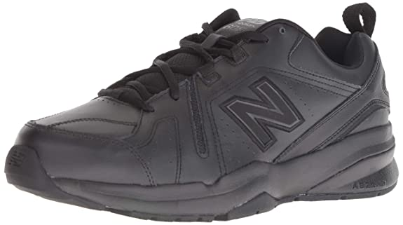 New Balance Men's 608v5 Casual Comfort Cross Trainer, Black, 6.5 D US