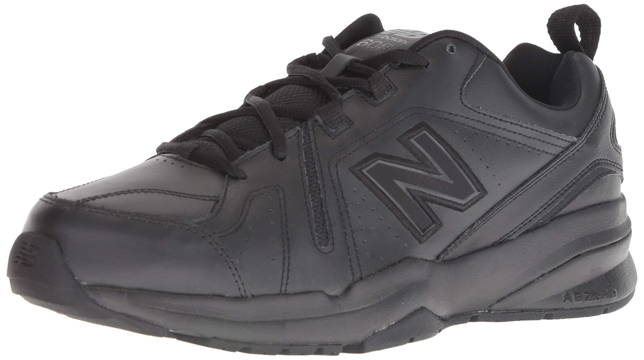 New Balance Men's 608v5 Casual Comfort Cross Trainer Black, 6.5 D US