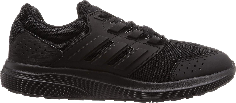 adidas Galaxy 4, Chaussures de Running Compétition Homme Noir Negros Negbás Ftw Bla 000