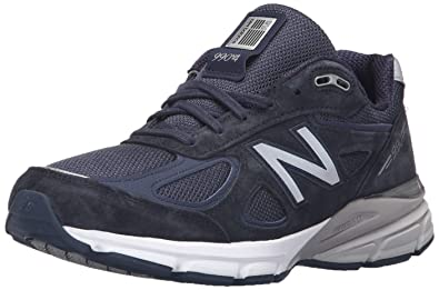 watch 8462a a6647 New Balance Men s 990v4, Navy, ...