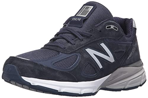 New Balance Men's M990NV4 Running Shoe, Navy, 10 2A US