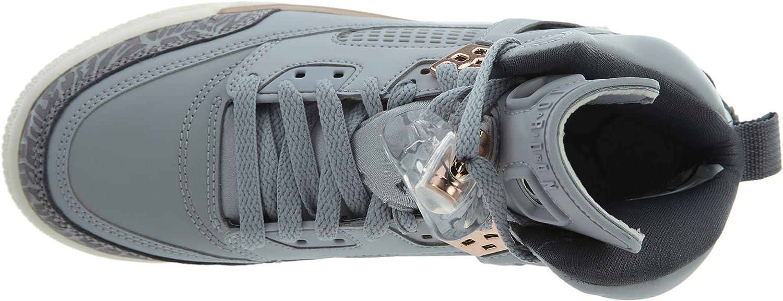Wolf Grey//Dark Grey-MTLC RED Bronze-SAIL Nike Jordan Spizike GG Boys Fashion-Sneakers 535712-018/_8.5Y