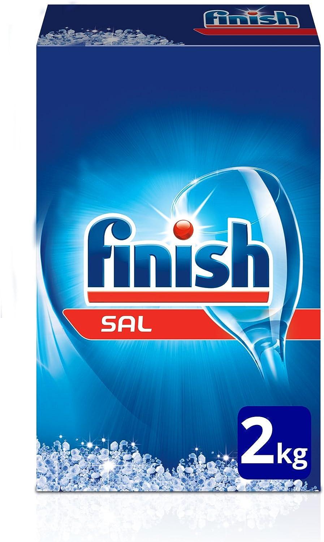 Finish Sal para lavavajillas - 2 kg: Amazon.es: Amazon Pantry