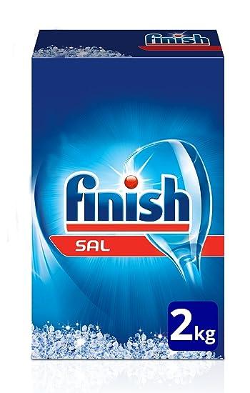Finish Sal para Lavavajillas, 2 kg: Amazon.es: Salud y cuidado ...
