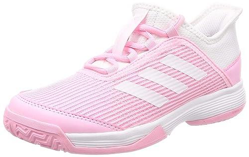 Adidas Adizero Club K, Zapatillas de Tenis Unisex Niños, Rosa True Pink FTWR White, 32 EU: Amazon.es: Zapatos y complementos
