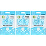 Bottle Bright Biodegradable All natural Effervescent Bottle Cleaning Tablets
