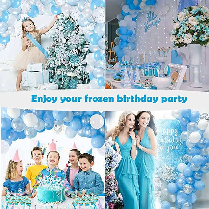 Details about  /NEW Milestone Birthday   Party Blue Sparkle Party Happy Birthday 18th Standard F